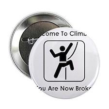 "ClimbingBroke Black 2.25"" Button"