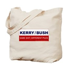 Bush/Kerry Tote Bag