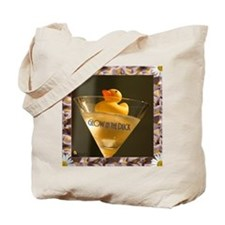 Glow in the Duck Tote Bag