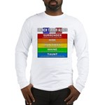 French Terror Alerts Long Sleeve T-Shirt