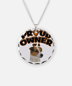 Proud Owner of a Jack Russel Necklace