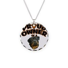 Proud Owner of a Rottweiler Necklace