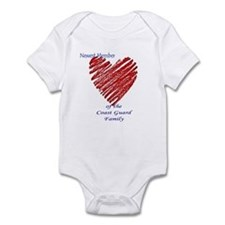 Baby Shower Gift Coast Guard Infant Bodysuit Onsie