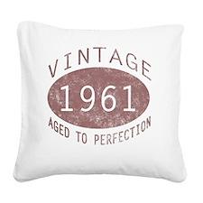 VinOldA1961 Square Canvas Pillow