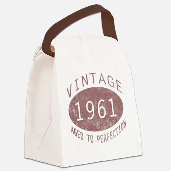 VinOldA1961 Canvas Lunch Bag