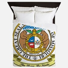 Missouri Seal Queen Duvet