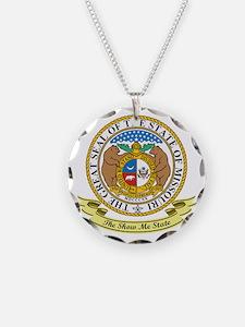 Missouri Seal Necklace