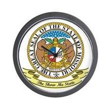 Missouri Seal Wall Clock