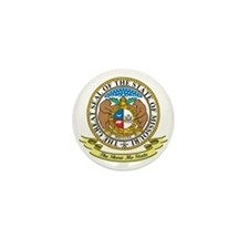 Missouri Seal Mini Button