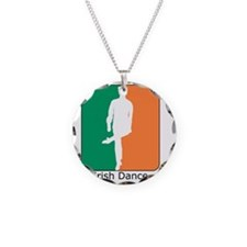 ID TriColor Boy10x10_apparel Necklace Circle Charm