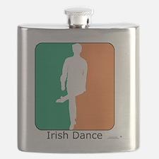 ID TriColor Boy10x10_apparel Flask