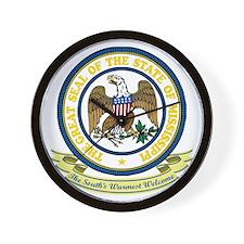 Mississippi Seal Wall Clock