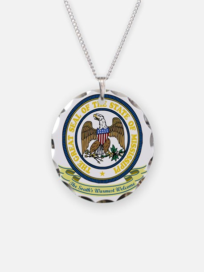 Mississippi Seal Necklace