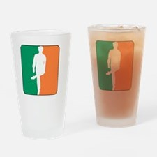 ID TriColor Boy DARK 10x10_apparel Drinking Glass