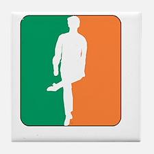 ID TriColor Boy DARK 10x10_apparel Tile Coaster