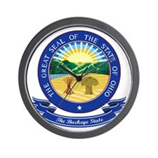 Ohio Seal Wall Clock