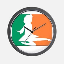 ID TriColor Girl DARK 10x10_apparel Wall Clock