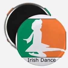 ID TriColor Girl 10x10_apparel Magnet