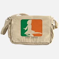 ID TriColor Girl 10x10_apparel Messenger Bag