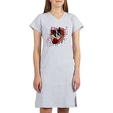Valentine_Red_Rose_Boston_Terri Women's Nightshirt