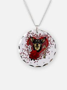Valentine_Red_Rose_Australia Necklace