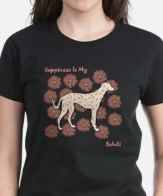 Saluki Happiness Tee