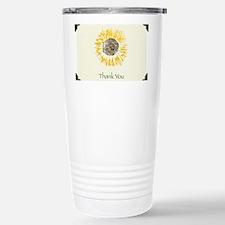 Yellow Sunflower Travel Mug