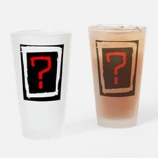 question Drinking Glass