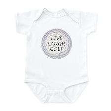 Live Laugh Golf Infant Bodysuit