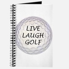 Live Laugh Golf Journal