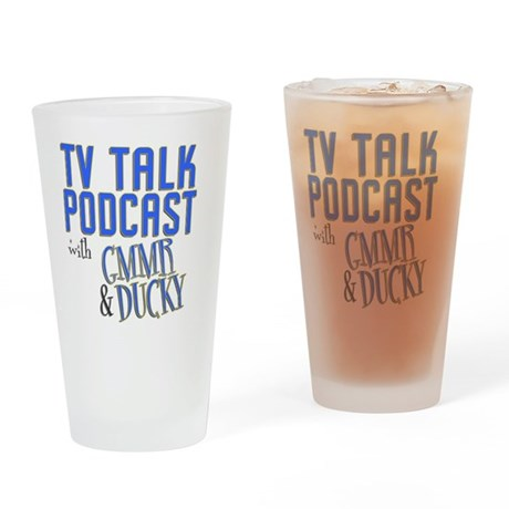 podcast stadium blanket Drinking Glass