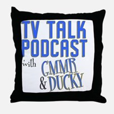 podcast stadium blanket Throw Pillow
