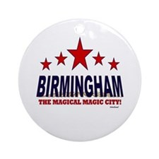 Birmingham The Magical City Ornament (Round)