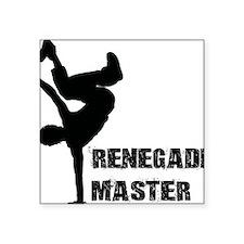 "Renegade Master Square Sticker 3"" x 3"""