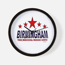 Birmingham The Magical City Wall Clock
