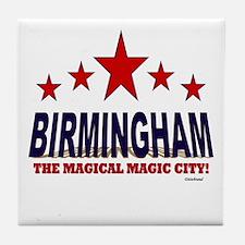 Birmingham The Magical City Tile Coaster