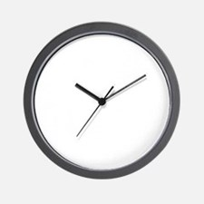 FUNKY DANCE TEXT WHITE TEXT copy Wall Clock