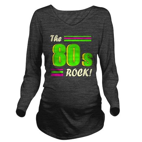 the 80s rock light 2 Long Sleeve Maternity T-Shirt