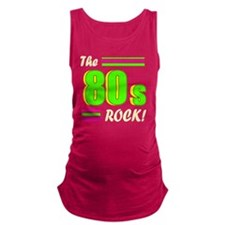 the 80s rock light 2 Maternity Tank Top