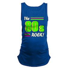 the 80s rock light 2 Maternity Tank Top