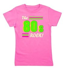 the 80s rock light 2 Girl's Tee