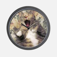 chic yawn Wall Clock