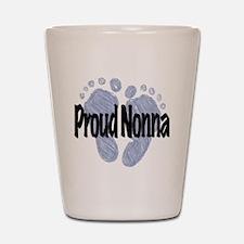 Proud Nonna (Boy) Shot Glass