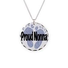 Proud Nonna (Boy) Necklace Circle Charm