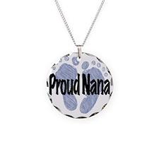 Proud Nana (Boy) Necklace Circle Charm