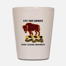 1-1O CAV RGT WITH TEXT Shot Glass