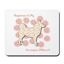 Elkhound Happiness Mousepad