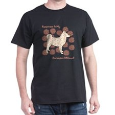 Elkhound Happiness T-Shirt
