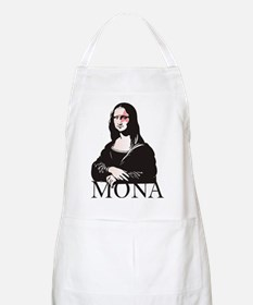 Mona Kiss Fan BBQ Apron