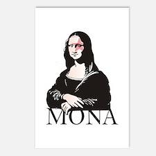 Mona Kiss Fan Postcards (Package of 8)